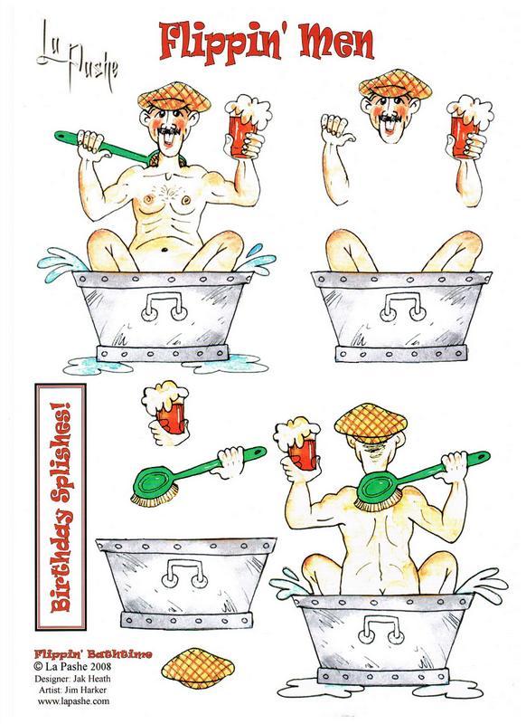 Flippin' Bath Time