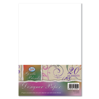 Gentle Blends Designer Paper/Card. 20 sheets per pack. - DLL704