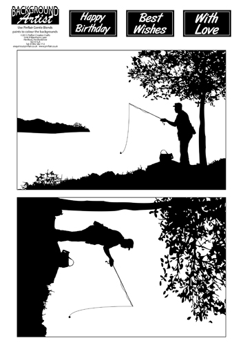 DLL723 Background Artist Fishing