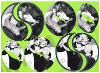 Die cut dancing round toppers. Largest toppers foiled embossed.  Fits onto a CD perfectly.