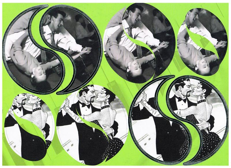 Die cut dancing round toppers. Largest toppers foiled embossed.