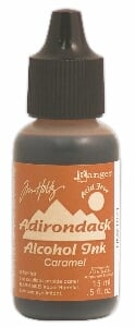 Adirondack Caramel Alcohol Ink - Earthtones