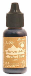 Adirondack Latte Alcohol Ink - Earthtones - UK DELIVERY ONLY