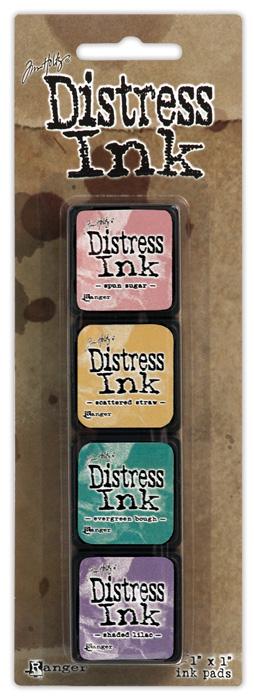 Mini Distress Pad Kit 4 - TDPK40347