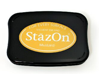 Mustard Stazon Ink Pad