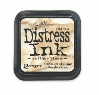 Tim Holtz Antique Linen Distress Ink Pad