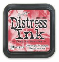 Tim Holtz Festive Berries Distress Ink Pad