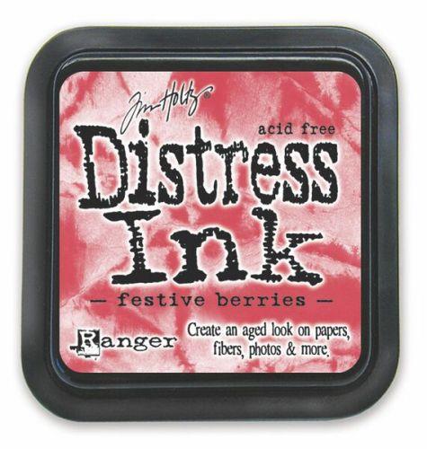 Festive Berries Distress Ink Pad