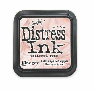 Tim Holtz Tattered Rose Distress Ink Pad