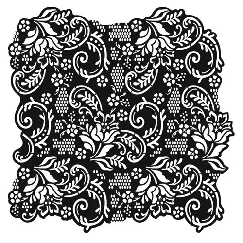 TG400600100 Floral Stencil