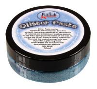 Sky Blue Glitter Paste