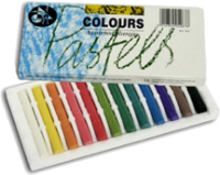 Jakar Assorted Coloured Pastels