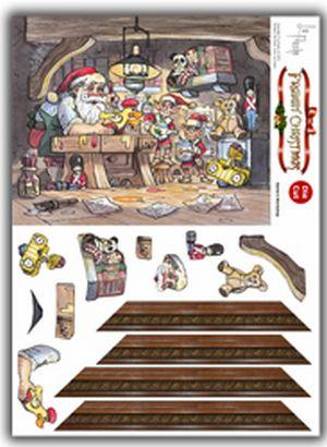 Framin' Christmas - Santa's Workshop