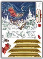 Framin' Christmas - Santa's Sleigh