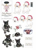 Jolly Nation - 47901 - Christmas Scottie & Labrador