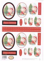 BCFD0018 - Christmas Fairy Doodles Oval Stackers - Item no 412