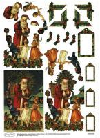 Joanna Sheen 3D Christmas Decoupage - JSDEC006-1