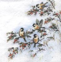 Sophy's Birds napkin. 25 cm x 25 cm