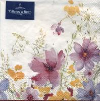 Mariefleur V & B napkin. 25 cm x 25 cm