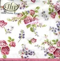 Rosamond White napkin. 25 cm x 25 cm