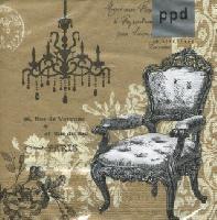 Grand Baroque gold napkins. 33 cm x 33 cm