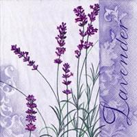 Scent of Lavender napkins. 33 cm x 33 cm