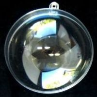 Product name: Transparent plastic ball (Glass effect) 70mm