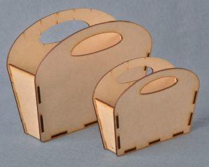 Corfu Handbag - Small - Measures 160 mm x 125 mm x 70 mm