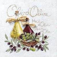 Olio d'Oliva napkin 33 x 33 cm