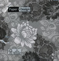 Blossoms & Ornaments napkin 33 x 33 cm