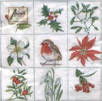 Winter Garden napkin 33 x 33 cm
