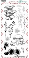 CB12 - Nature Table - UDLSP0235 - Grey rubber stamp