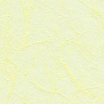 Pale Lemon Mulberry Paper A5 - Pack of 10