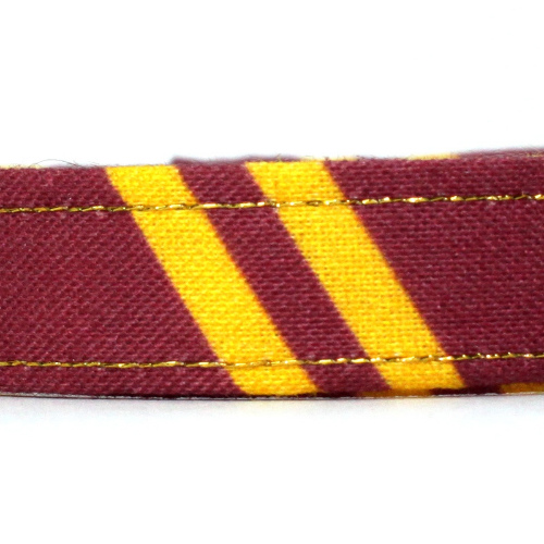 wizard gryffindor collar closeup