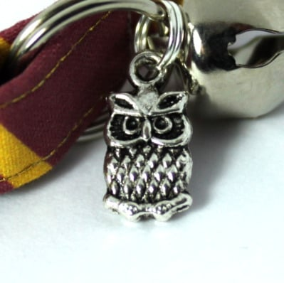 harry potter collar owl charm