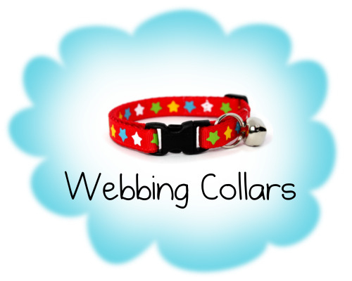 Webbing Cat Collars