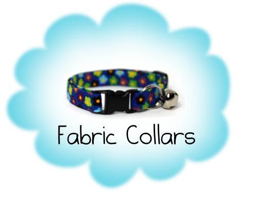 Fabric Cat Collars