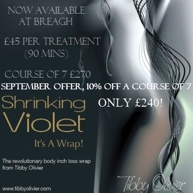 Sept 19 Offer Shrinking Violet