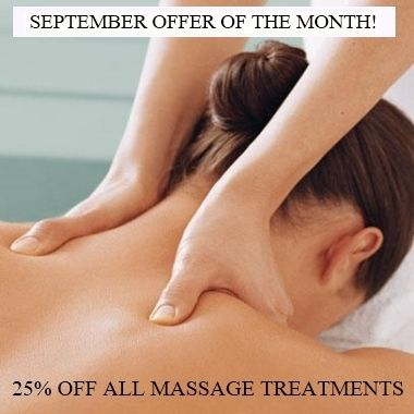 Sept 19 Massage