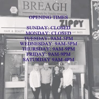 Breagh Open Times