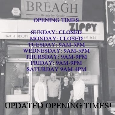 Updated Breagh Open Times