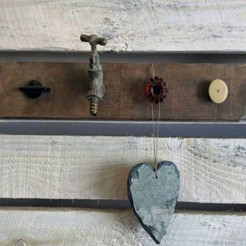 Hang Ups Vintage Up-cycled Hook Rail
