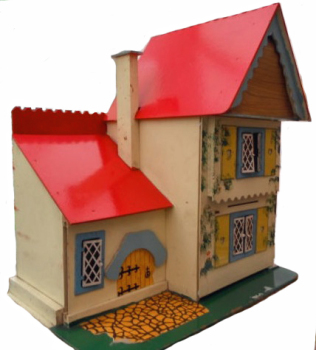 dh8 tudor cottage gee bees small house side view_ebay