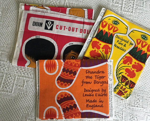 Vintage Cut and Sew toys - Belinda Lyon and Louise Elliott