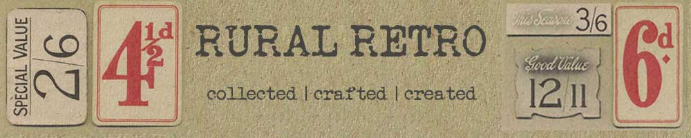 Rural Retro - Handmade | Vintage | Homewares , site logo.