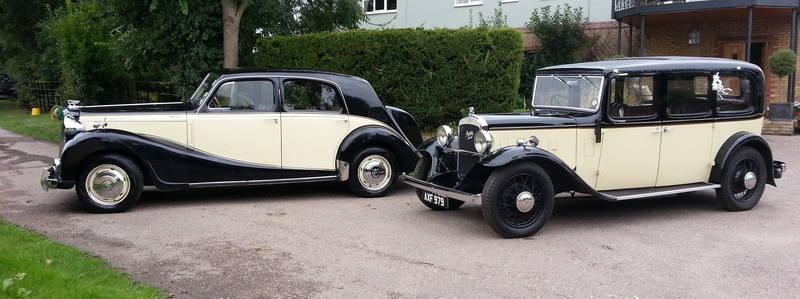 Wedding cars Sheerline and Gracie