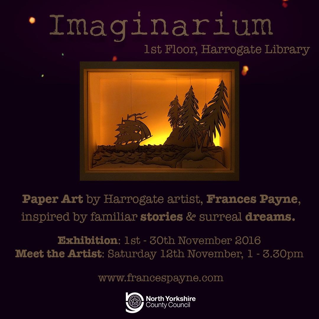 Imaginarium. Harrogate Library, North Yorkshire. 2016