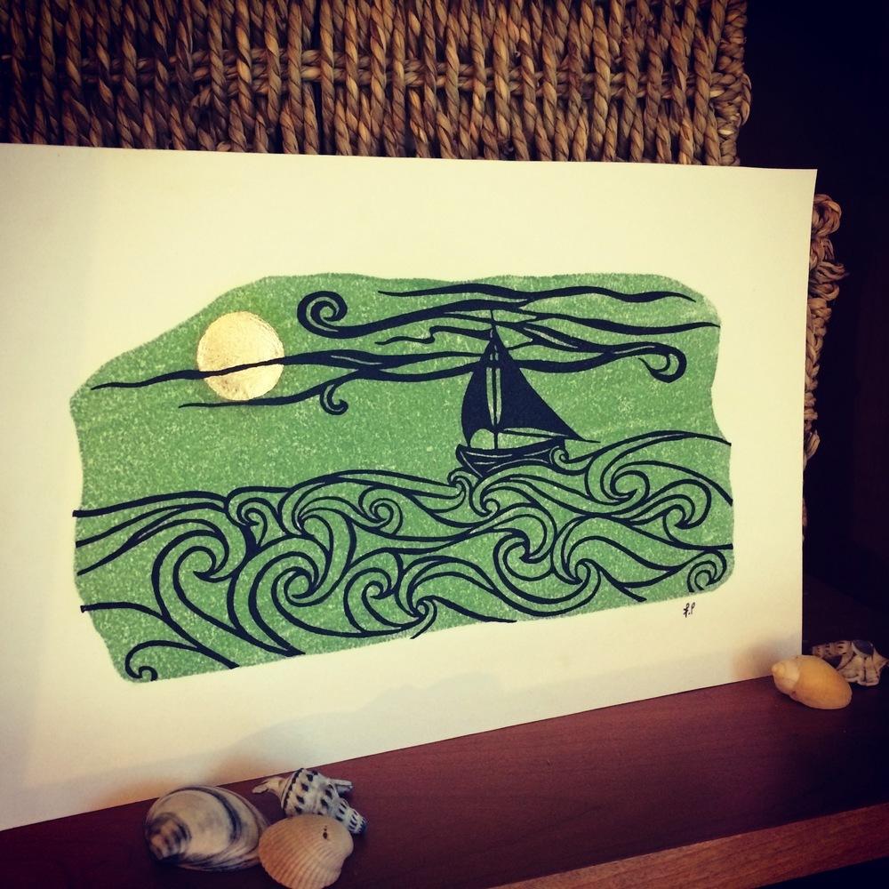 2 - Linocut Prints