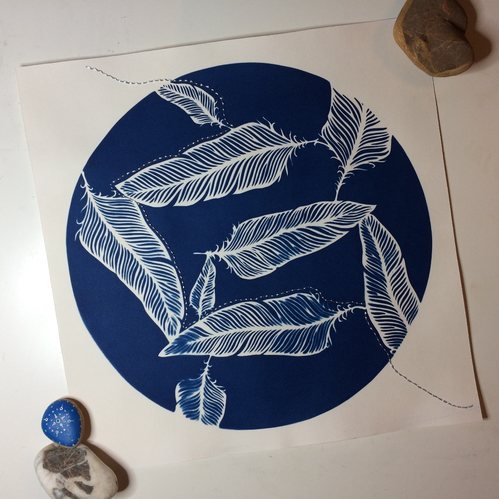 3 - Cyanotype Prints