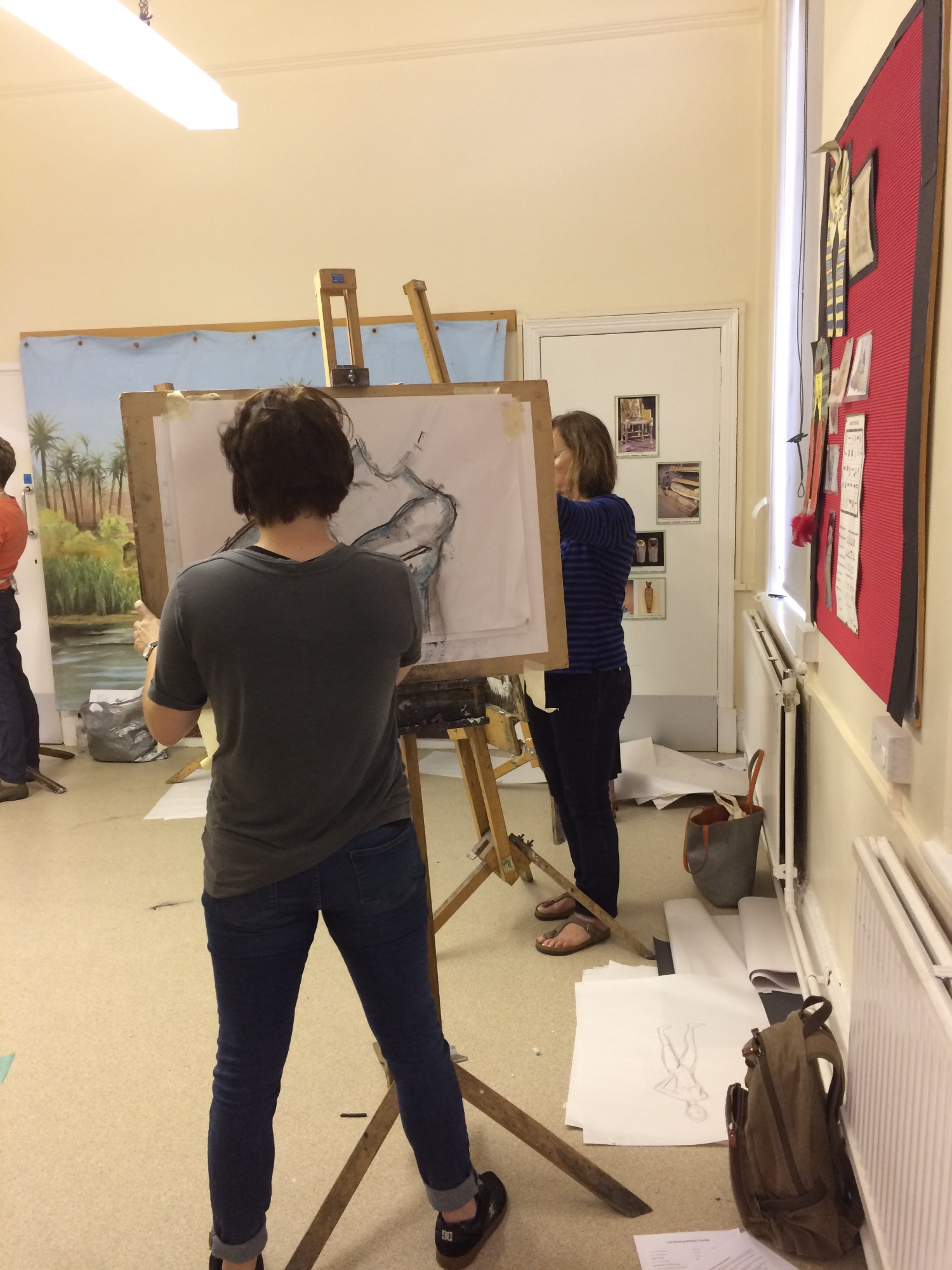 Life Drawing at the Mercer Gallery Harrogate